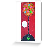 Loved Earth Greeting Card