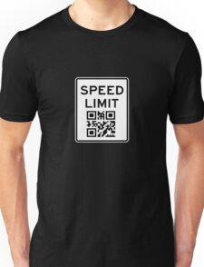 SPEED LIMIT in QR CODE Unisex T-Shirt