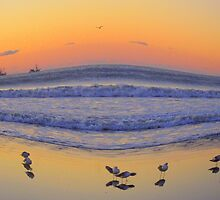 Sunrise on Kiawah Island by Melanie McPike