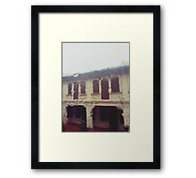 Rain-washed Scenery #14 Framed Print