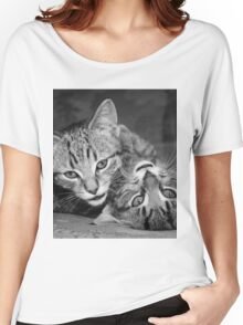 Yin and Yang Kittens Women's Relaxed Fit T-Shirt
