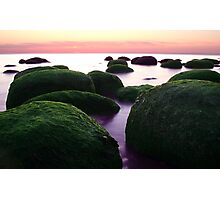 Rockin' Sunset by the Sea Photographic Print