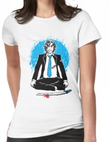 Office Samurai Womens Fitted T-Shirt