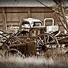 Farm Junkyard by Julie Sleeman