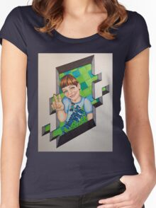 MINECRAFT PRO Women's Fitted Scoop T-Shirt