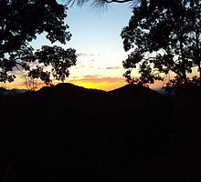 San Bernardino Mountains Sunset-2 by Bearie23