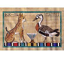 Mwt and Amun: Spirit Animals Photographic Print