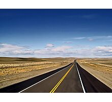 On the Road to Nowhere Photographic Print