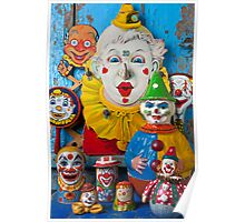 Clown toys Poster
