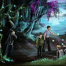Magic forest by Anthropolog