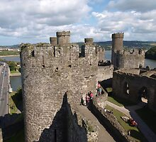 Conwy Castle (2) by kalaryder