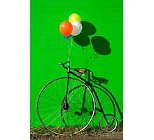 Penny farthing bike Photographic Print