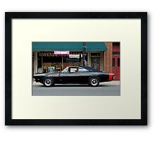 Hard Charging R/T Framed Print