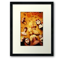 Collectable dolls Framed Print