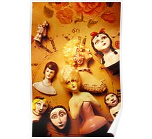 Collectable dolls Poster