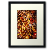 Father's day memories Framed Print