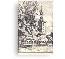 Georg Lilie Dorflinde in Obermaßfeld Canvas Print