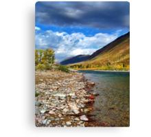 Glacier Park Autumn 3 (The Northfork) Canvas Print