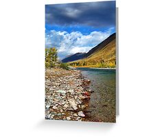 Glacier Park Autumn 3 (The Northfork) Greeting Card
