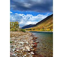 Glacier Park Autumn 3 (The Northfork) Photographic Print