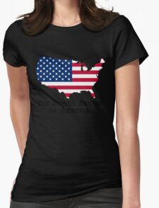 The United States of America Womens Fitted T-Shirt