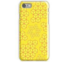 Yellow Cubes iPhone Case/Skin