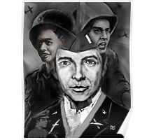 AUDIE MURPHY;THE REAL AMERICAN HERO ! Poster