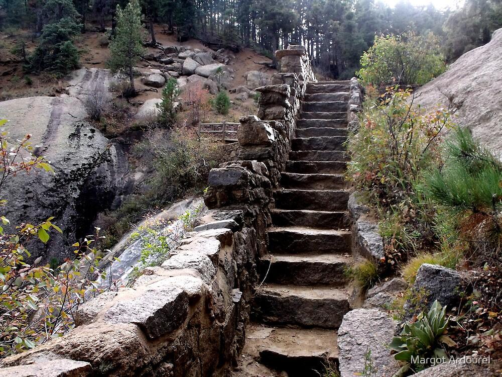 Stairway to Helen Hunt Falls by Margot Ardourel