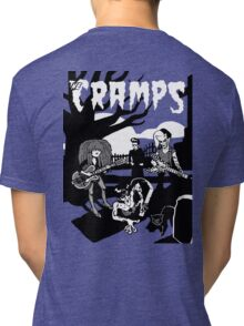 The CRAMPS Tri-blend T-Shirt
