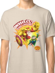 Pizza Man - Who cut the cheese? Classic T-Shirt
