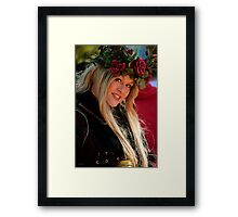 Crowned By Nature Framed Print
