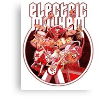 Electric Mayhem Canvas Print