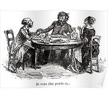 Achille Sirouy Mark Twain Les Aventures de Huck Huckleberry Finn illustration p035 Poster