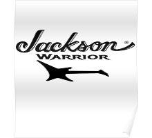 Jackson Kelly - Warrior Guitar Poster