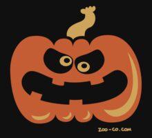 Angry Pumpkin Kids Tee