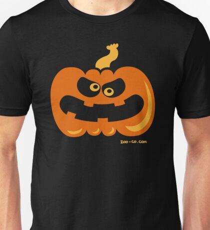 Angry Pumpkin Unisex T-Shirt