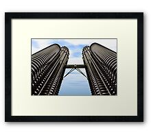 Grey Giants Framed Print