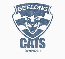 Geelong Cats, AFL Premiers 2011 (Washed Worn Look) Version 2 T-Shirt