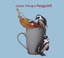 Tea Break - Pick up a Penguin! Baby Tee