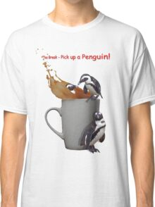Tea Break - Pick up a Penguin! Classic T-Shirt