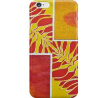 Orange Olive Branch iPhone Case/Skin