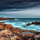 Boat Harbour rugged coast by Michael Howard