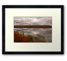 Summit Lake - Alaska  Framed Print