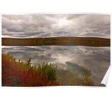 Summit Lake - Alaska  Poster