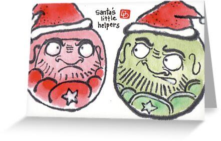 Christmas Daruma 2 (Holiday Daruma Series) by dosankodebbie