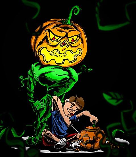 Pumpkin Avenger by Michael Lee