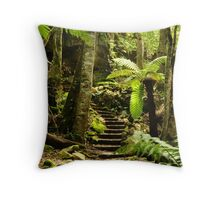 there is only one way out Throw Pillow