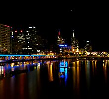 Melbourne from the Casino by Paul Campbell  Photography