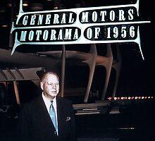 Harley Earl at General Motors Motorama 1956 by haymelter