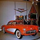 Chevrolet Corvette at General Motors Motorama 1956 by haymelter
